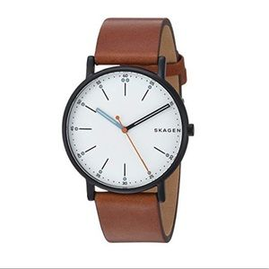 Skagen Men's Leather Watch